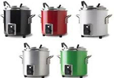 Vollrath 72172** 11 Qt Stock Pot Kettle Rethermalizer w/ Inset & Hinge Cover
