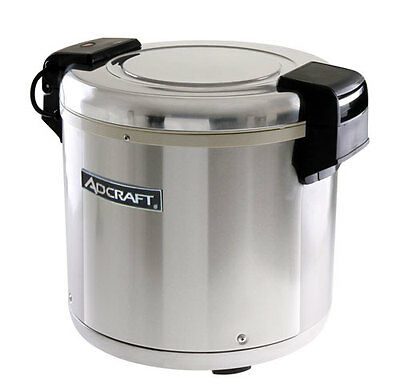 Adcraft RW-E50 50 Cup Electric Rice Warmer W/ Nonstick Inner Pot