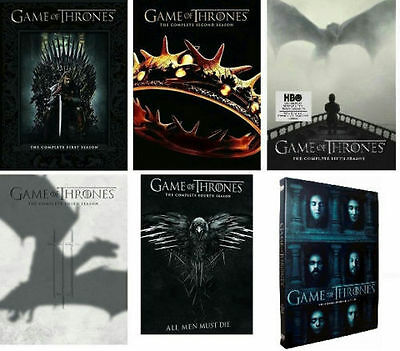 Brand New Game of Thrones DVD Season 1 - 6 Complete 1 2 3 4 5 6 DvD Set