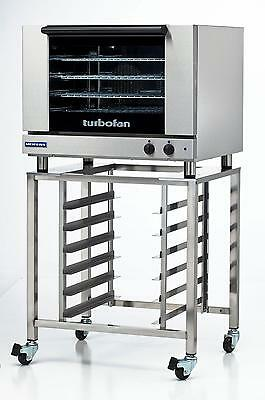 Moffat E28M4/SK2731U Electric Convection Oven Full Size 4 Pan w/ Mobile Stand