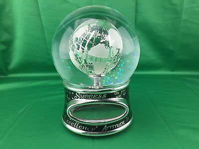 Things Remembered - Snow globe Success Is A Journey Not A Destination - Love Ya