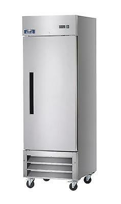 Arctic Air 23 Cu.ft Reach-In Freezer 1 Solid Door Stainless Exterior - Af23