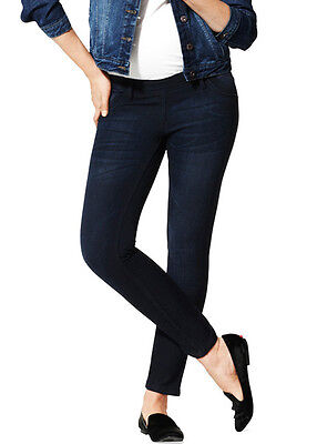 NWT DL1961 Maternity Angel in Berlin Mid-Rise Skinny Ankle Crop Stretch Jeans 29