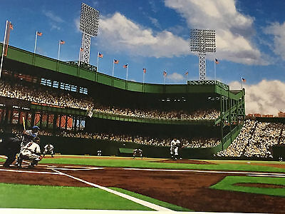1951 Giants Dodgers Polo Grounds Game 3 - Limited Ed. Fine Art Litho /600 16X36