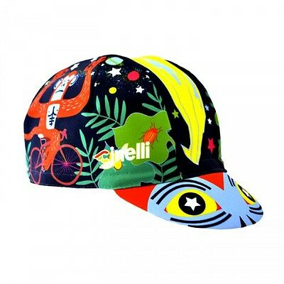 Brand new cinelli JUNGLE ZEN CAP  Cycling cap, Italian made Retro fixie black