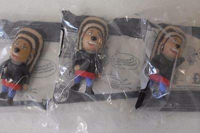 SING - 3 x Mcdonald's Happy Meal ASH Toys -New & Sealed