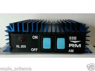 KL 203 Mobile Linear Amplifier by R.M.