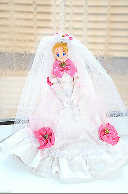 Sailor Moon Usagi Bride Wedding Dress Doll 11 inch Bandai Japan vintage