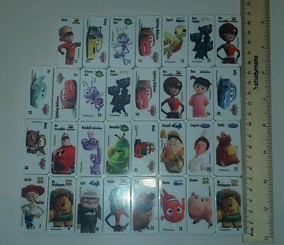 Bulk Woolworths Disney Pixar domino dominoes Toy Story Monsters Inc Up