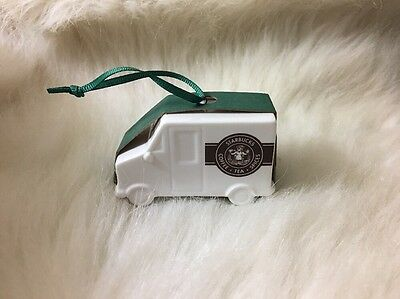 New Starbucks Coffee 2016 Pike's Peak Delivery Truck Christmas Ornament