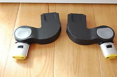 iCandy Apple / Pear Lower Yellow Maxi Cosi Cabriofix Car Seat Adapters