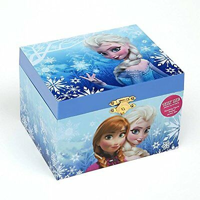 Musical Boxes Figurines Disney Elsa Music Jewelry Box