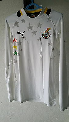 Shirt Jersey Maillot Trikot Puma GHANA Player Issue Stock Pro AUTHENTIC RARE L