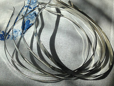 DIY Stainless Steel Headband 4 Sizes For fascinators, hats & craft use