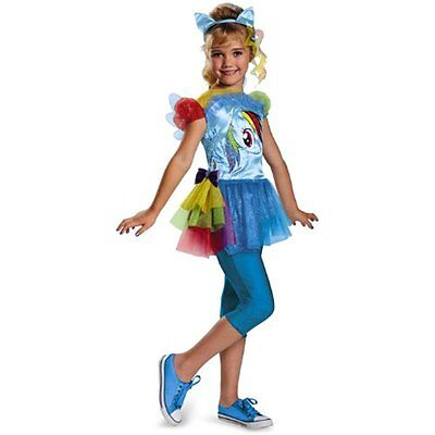 Costumes Disguise Hasbros My Little Pony Rainbow Dash Classic Girls Costume,
