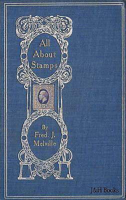 ALL ABOUT POSTAGE STAMPS 250 pages text 276 illustrations Philately Reference CD
