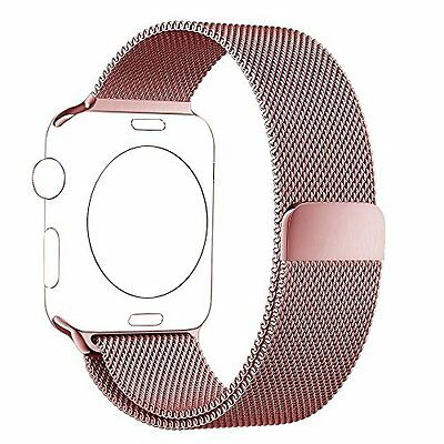 Smart Watch Bands BRG Apple Watch Band Milanese Loop Stainless Steel Bracelet