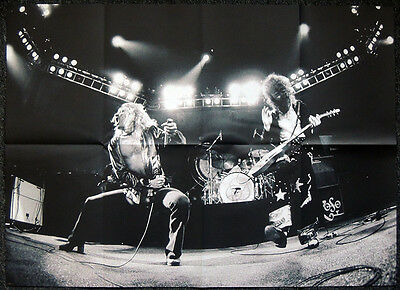 Led Zeppelin Poster . 81 X 59 Cm . Robert Plant & Jimmy Page