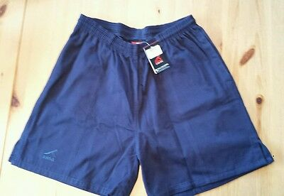 Akoa rugby shorts in navy blue large L 32/34in / 81/86cm