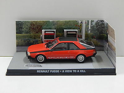 RENAULT FUEGO - A VIEW TO A KILL 1:43 James Bond Collection - Eaglemoss NEW !!!