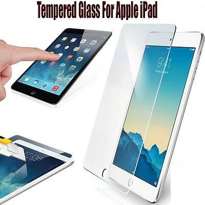 Temper Glass Screen Protector for AppleiPad 2 3 4 Mini 1 2 3 Air /Air 2 iPad Pro