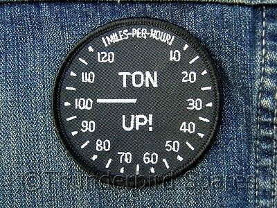 Patch, Ton-Up, Sew On, Classic Bike, Rockers Insignia