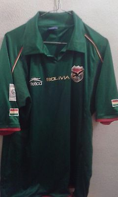 Bolivia Mundial  XL camiseta  futbol football shirt