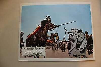 The Charge Of The Light Brigade - Uk Foh Lobby Card #7