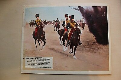 The Charge Of The Light Brigade - Uk Foh Lobby Card #8