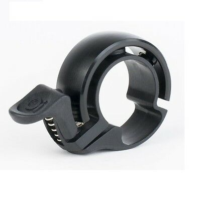Knog Oi Bicycle Bell Classic Design - Size Small 22.2mm, Black