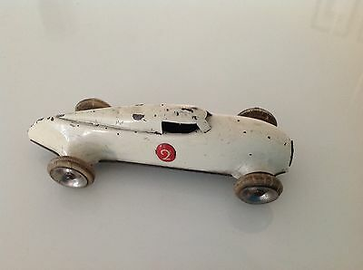 LEHMANN GNOM 808 Vintage Tin Plate Racing Car Made in Germany RARE TOY