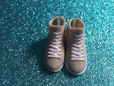 Barbie Ken Doll Fashionista Muse Tan High Top Ken Shoes Athletic Sneakers