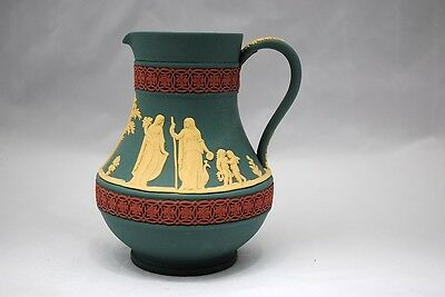 Wedgwood Tri-Color Jasper Ware Etruscan Jug or  Pitcher Limited Edition of 500
