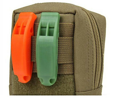 P&T Emergency Whistle Outdoor Camping Hiking Boating Survival Distress Marine