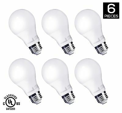 HyperSelect 9W LED A19 - E26 Bulb Non-Dimmable (60-Watt Equivalent) 3000K (So...