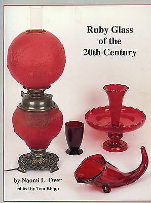 Ruby Art Glass - Makers Patterns Types / Illustrated Book + Values