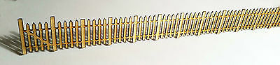 Model Railway Wooden Fence Scenery Ready Made OO Gauge 1:76 Birch laser cut