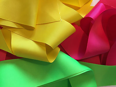 """3 Inch Grosgrain Ribbon 3 Inch, 3"""", 75mm, 1-20yards+ 40 colours available."""
