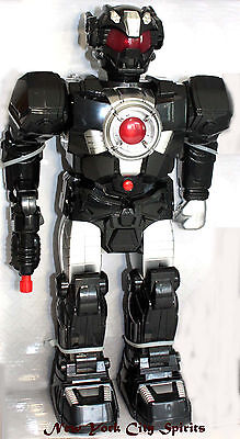 """Motorized Robot With Light Up and Sound 15"""" Tall"""