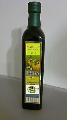 Pumpkin seed oil 500 ml 100 % natural pure quality