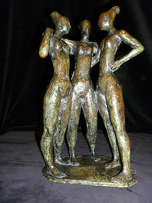 Orig. VALSUANI Bronze Sculpture signed and numbered 1/8, Cire perdue
