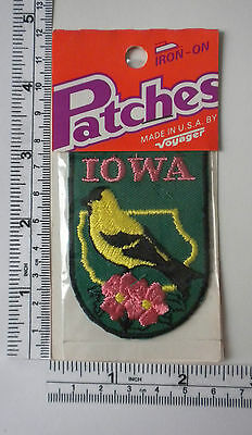 Vintage US State Iowa Collectible Patch