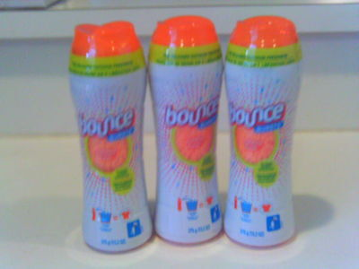 3 Bounce Bursts outdoor fresh in wash scent booster fabric softener 13.2 oz