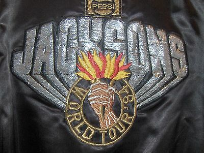 Michael Jackson 1984 Pepsi Tour Satin Jacket   (17A)