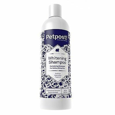 Petpost | Dog Whitening Shampoo - Best Lightening Treatment for Dogs with Whi...
