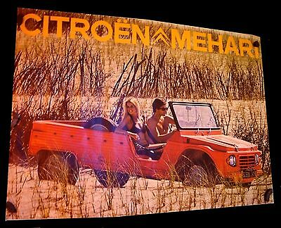 affiche Citroën MEHARI                  Original          NO  COPY