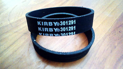 2 Genuine Kirby Drive Belts suits all G Models &Sentria