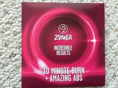 Zumba Incredible  Results 30 Minutes Burn + Amazing Abs Dvd