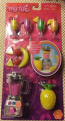 """My Life As Smoothie Maker Playset Accessories 18"""" Dolls American Girl"""