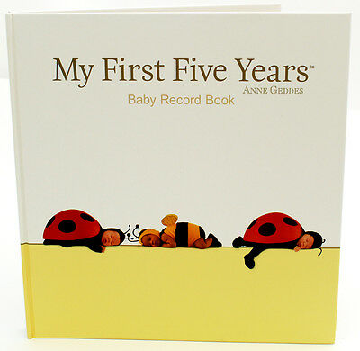 Brand new Anne Geddes My first five years baby record book photo album